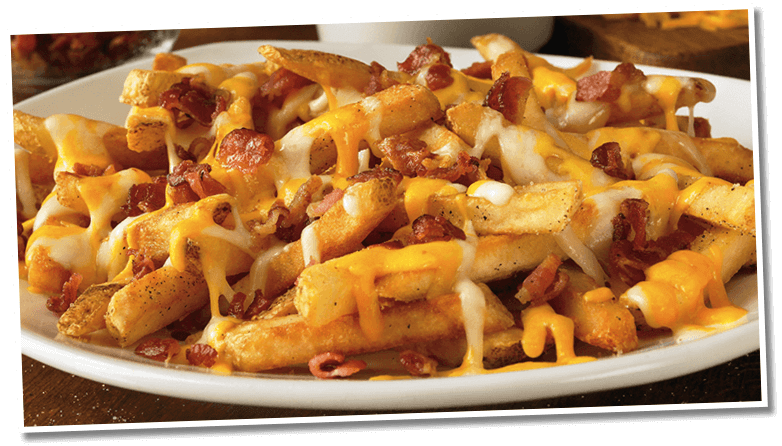 Aussie Cheese Fries Dinner Outback Steakhouse